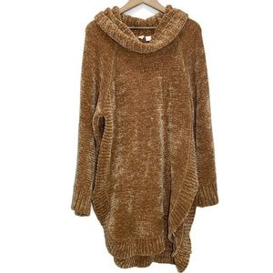 Anthropologie Moth caramel knit sweater tunic